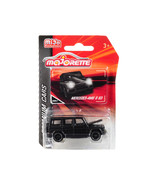 Mercedes AMG G 63 Matt Black Premium Cars 1/61 Diecast Model Car by Majo... - $19.56