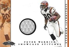 2001 Fleer Showcase Stitches #15 Peter Warrick - $2.50