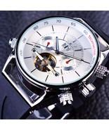 JARAGAR GMT960 Calendar Automatic Mechanical Watches Rubber Band Men Wri... - $55.10