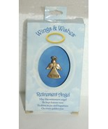 DM Merchandising Wings Wishes Gold Colored Retired Angel - $8.95