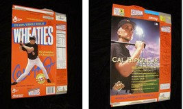 Cereal Box Empty Flat General Mills Wheaties Baltimore Orioles 90s MLB B... - $19.99