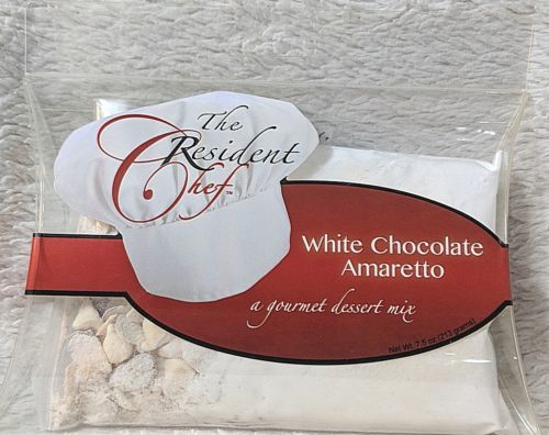The Resident Chef White Chocolate Amaretto A Gourmet Gluten Free Dessert Mix