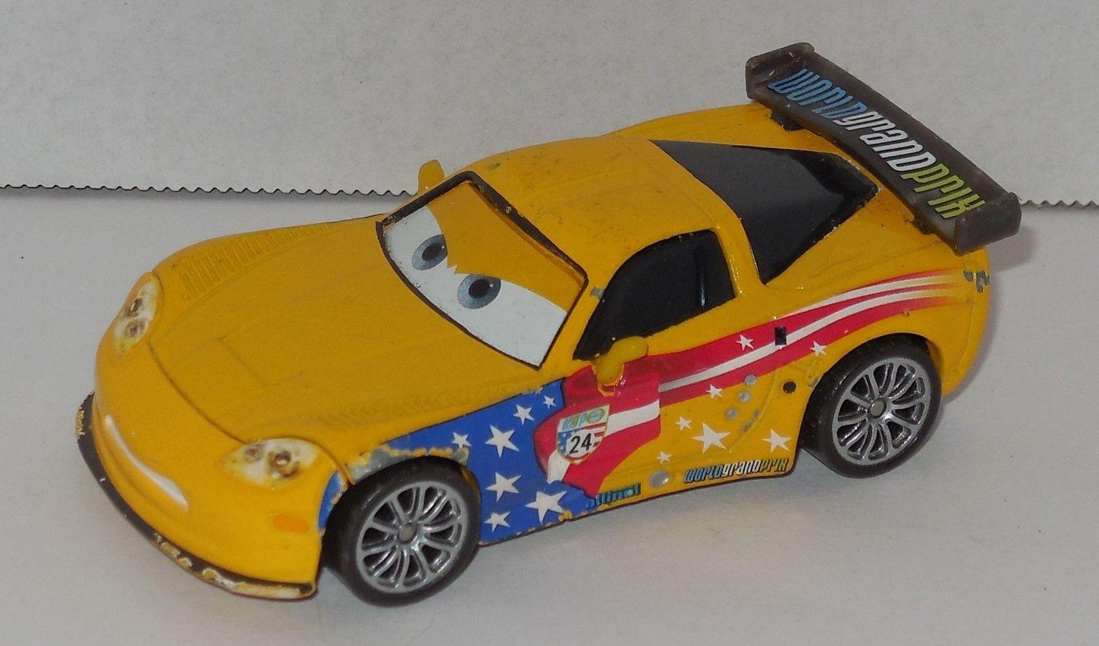 Disney Cars WGP World Grand Prix JEFF GORVETTE Diecast car VHTF Pixar