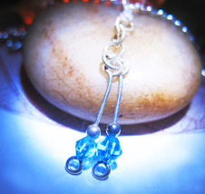 HAUNTED NECKLACE BEAUTY SEXY ATTRACTION MAGICK 925 TOPAZ PENDANT CASSIA4 - $30.00