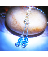 Blue gem haunted necklace thumbtall