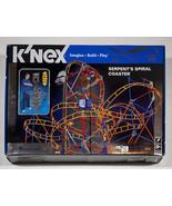 K'NEX SERPENTS SPIRAL COASTER  MOTORIZED BUILDING SET NEW KNEX - $109.39