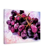 "Red Grapes Canvas Artwork 24"" x 18"" Gallery Wrapped Giclée Print - $69.99"