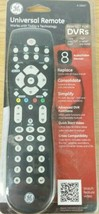 GE Universal Remote 8 Audio / Video Devices # 26607 General Electric Black New - $22.76