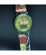 JURASSIC PARK WATCH vintage 1997 lost world burger king wristwatch dinos... - $23.76