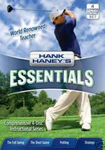 "HANK HANEY, Golf ESSENTIALS W/ BONUS ""STRATEGY"" DVD-4PK - $19.75"