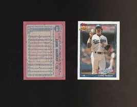 1991 Topps Glow Card Back UV Variant Baseball Card #590 Eddie Murray - $2.62