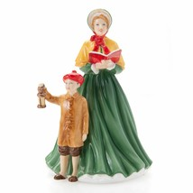 "Royal Doulton 2018 Annual Here We Come A-Caroling 7"" Bone China Figurine... - $138.59"
