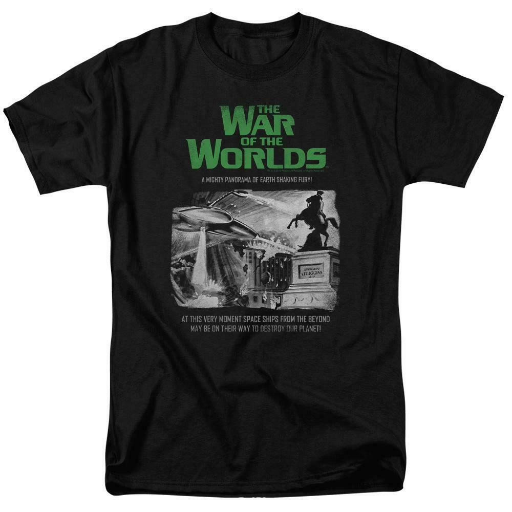 The War of the Worlds t-shirt Sci Fi retro 50s thriller graphic tee PAR539