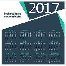 2017 Calendar Poster - Custom Business Wall Calendar - £10.66 GBP