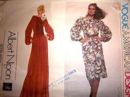 Vintage Pattern V1744 NIPPON 14 Gown - $19.99