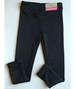 Lily & Dan Small Black Fleece Lined Leggings Girls Winter Sport Clothes - $11.95