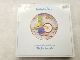 Paddington Bear Plate The Beat Goes On Schmid Made In Japan 1982 Vintage - $13.33