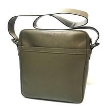 b6a5651502cc AUTHENTIC PRADA Logo Plate Messenger Shoulder Bag Light Brown Leather VA...  - $400.00