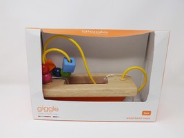 Manhattan Toy Giggle Wooden Bead Maze Run Baby Activity Toy - New - $24.69
