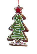 """Kurt Adler 5"""" Green White Tree Multi-Color Candy Star Topper Christmas O... - $8.65"""