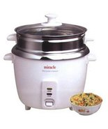 Miracle Exclusives ME81 Stainless Steel Rice Cooker - Steamer - $72.95