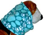 Turquoisepawprintsfleecesnood1 burned thumb155 crop