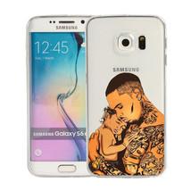Child Rap Music Rapper Hiphop Chris Brown Silicone phone Case For Samsung - $93,93 MXN