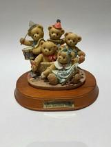 Cherished Teddies Commemorative 5 Year Anniversary Figurine 1996 Rare - $24.70