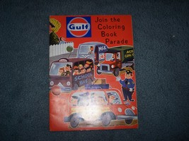 1967 Gulf Oil coloring book parade contest & Rule sheet - $12.99