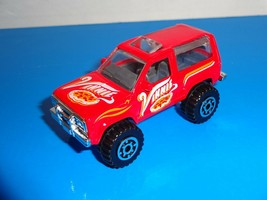 Matchbox 1 Loose Vehicle Ford Bronco II Red Vinnie Pizza - $3.00