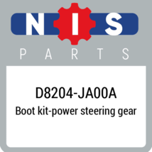 D8204JA00A Nissan BOOT KIT POWER STEERING GEAR, New Genuine OEM Part - $16.89