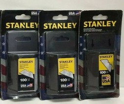 (New) STANLEY 11-921A  100 PACK Heavy Duty Utility BLADES Lot of 3 - $44.54