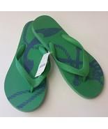 J Crew Womens Shoes Sandals Green Blue Flip Flops Thong Size 8 M - $24.71