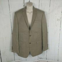 Men's Ralph - Ralph Lauren Tan Wool Silk Linen Sports Coat Blazer 42 L - $29.70