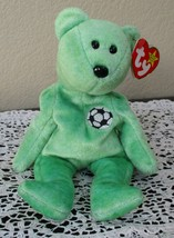 Ty Beanie Baby Kicks The Bear 5th Generation Hang Tag 1999 USED - $4.94