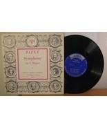 "Bizet Symphony in C Major, MMS-11, 33rpm/10"" 2LP - $8.99"