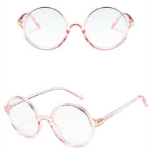 New Fashion Nerd Style Round Clear Lens Glasses Frame Retro Casual Daily... - $7.99