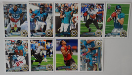 2011 Topps Jacksonville Jaguars Team Set of 9 Football Cards - $2.00