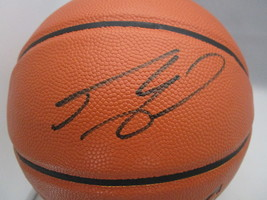 SHAQUILLE O'NEAL / NBA HALL OF FAME / AUTOGRAPHED FULL SIZE NBA BASKETBALL / COA image 2
