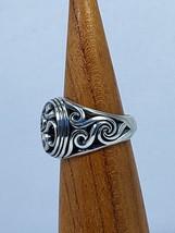 OM Symbol.Om Ring Silver .Om Ring.Yoga Symbol. - $93.00
