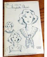 Collars by Elizabeth Anne Pattern 8 Ladies Collars NEW uncut upcycle - $6.50