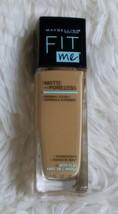 Maybelline Fit Me Matte Poreless Liquid Foundation Makeup Golden Caramel... - $8.37