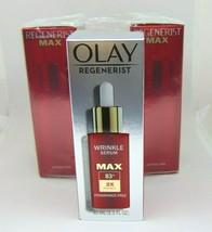 OLAY REGENERIST Wrinkle Serum Max B3 with Peptides  1.3Fl.oz./40ml NIB - $12.95