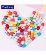 XUES® 50PC/Lot Kawaii Children MiniEmoticon Smile Pill Love BlankMessage... - $2.28