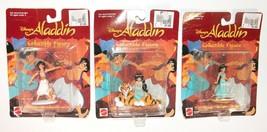 Mattel Disney's Aladdin Action Figure New Old Stock Lot of 3 - $14.69