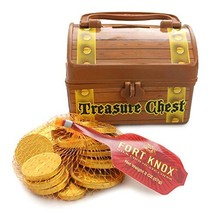 Pirate Treasure Chest Filled With Fort Knox Gold Chocolate Coins From Well Pack