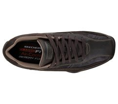 Men's Skechers Citywalk - Elendo Casual Shoes, 64932 /CHOC Sizes 8-14 Chocolate image 3