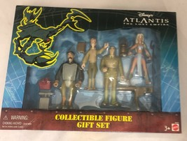New Mattel Disney Atlantis The Lost Empire 4 Action Figure Collectible G... - $24.74