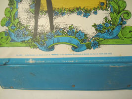 The World Of Barbie Doll Case 1002 Blue Vintage 1968 Doll Carrying Case image 11