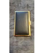 BUSINESS / CREDIT CARD HOLDER - BLACK AND GOLD - $10.00